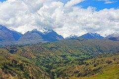Cordillera Blanca desde el mirador de Wilcacocha