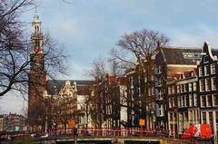 Casas típicas en Ámsterdam