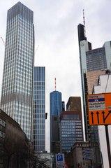 Centro financiero de Frankfurt
