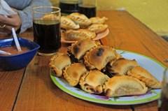 Nuestra cena en Cafayate: las infaltables empanadas