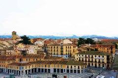 Segovia en el invierno