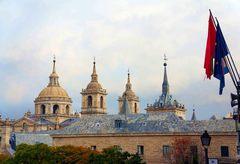 El Monasterio de El Escorial, España