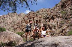 El grupo de trekking
