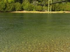 El agua cristalina del Lago Futalaufquen