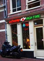 Coffee shop en Ámsterdam