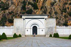 Entrada a la Basílica del Valle de los Caídos, España