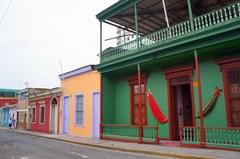 Casas en el Paseo Baquedano en Iquique