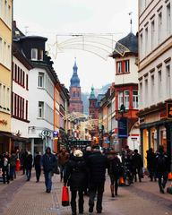 Centro histórico de Heidelberg