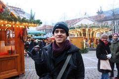 Un chocolate en el Mercado navideño de Heidelberg