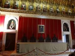 Al interior del Alcázar de Segovia