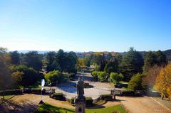 Campus sur de la Universidad de Santiago de Compostela