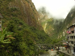 Aguas Calientes o Machu Picchu Pueblo