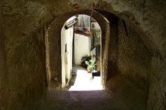 Callejuelas de arcos y bóvedas