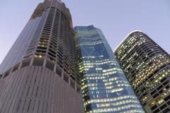 Modernos Rascacielos de Brisbane
