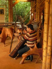 Concierto de arpa en La Aripuca, Iguazú