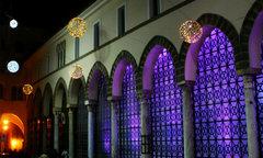 Imagen luces navideñas Salerno 2012