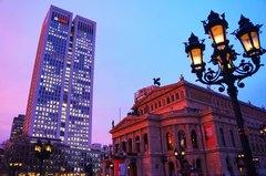 Un atardecer en la ópera de Frankfurt