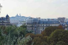 Vista de Montmartre desde el norte de París