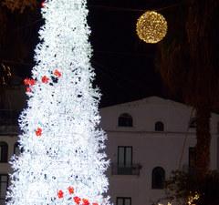 Zoomada del árbol de Navidad