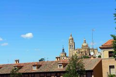 Vista de Segovia, España