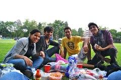 Picnic con los amigos :)