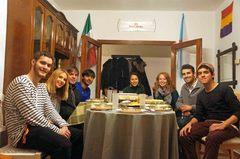 Día de Gracias, en mi piso en Santiago de Compostela