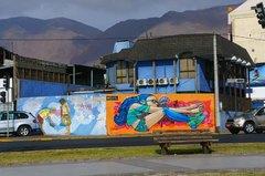 Grafitis en Iquique