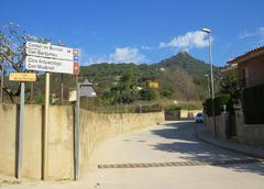 Inicio de la Ruta al Castell de Burriac