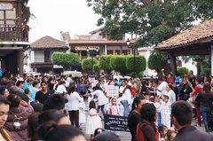 Desfile de pueblos m`gicos en Mazamitla