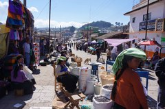 Calle de San Juan Chamula