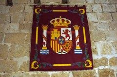 Escudo de España en el Castillo de Peñafiel
