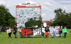 Marcha #YoSoy132 en campus central
