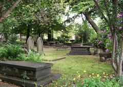 Romántico cementerio Huddersfield