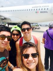A punto de abordar nuestro vuelo gratis a Guadalajara
