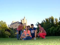 En las faldas del Alcázar de Segovia