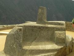 Piedra Intihuatana, Machu Picchu, Perú