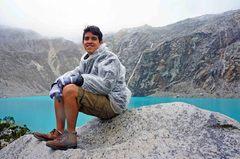 Llegando a la Laguna 69, Parque Nacional Huascarán