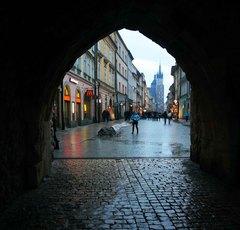 Bajo la Barbacana de Cracovia