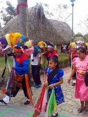 Desfile de totonacos, Festival Cumbre Tajín 2015