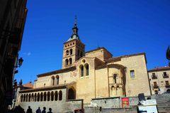 Iglesia en Segovia, España