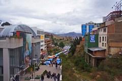 Paisaje urbano de La Paz
