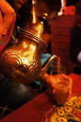 Té en un restaurante árabe, Granada