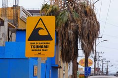 Alerta de tsunamis en Iquique