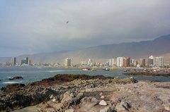 Vista de la costa de Iquique