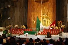 Interior de la Nueva Basílica de Guadalupe