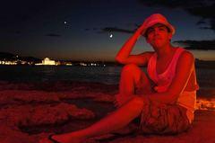 Anochecer en la Bahía de San Antonio, Ibiza
