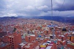 Vista de La Paz desde El Alto