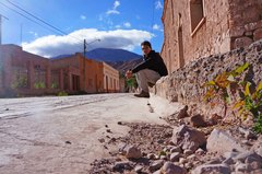 Solitaria calle de Maimará