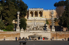 Plaza del Popolo, Roma
