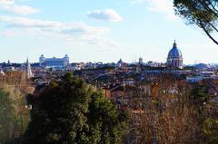 Roma vista desde la Villa Borghese